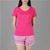 Áo thun thể thao nữ cổ tim COLO màu hồng sen