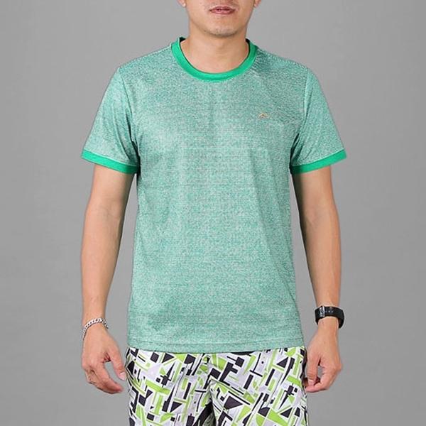 Áo thun thể thao nam tay ngắn COLO màu xanh lá