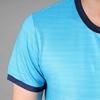 Áo thun thể thao nam tay ngắn COLO màu xanh viền đen
