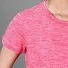 Bộ đồ thể thao nữ cổ tròn COLO màu hồng cam