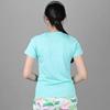 Bộ đồ thể thao nữ cổ tròn COLO màu xanh ngọc