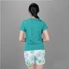 Bộ đồ thể thao nữ cổ tròn COLO màu xanh rêu